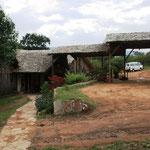 Eingang zur Lodge