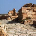 Ruinenstätte in Sbeitla
