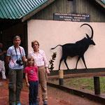 Eingang zum Shimba Hills NR