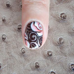 Gelish vitagel mit Design 23.04.14