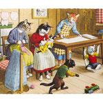 C 07 - Gatti in faccende domestiche