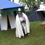 Wache vor meinem Zelt