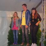 3. Platz güt Carina Quabach, Kleine Tour Springen