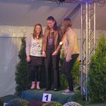 Kreismeisterin Große Tour Springen: Vera von der Heydt