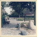 Küsterkoppel: Umbau zur verkehrsberuhigten Zone 1985
