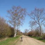 Kählstorfer Weg Richtung Klempau (Feldwegbreite 17 Meter einschließlich Seitenstreifen)
