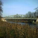alte Brücke über den Elbe-Lübeck-Kanal