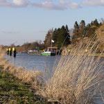 Elbe-Lübeck-Kanal mit Schleuse