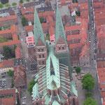 Marienkirche von oben