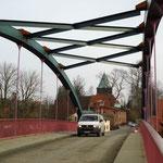 endlich fertig: Brücke mit Windverband