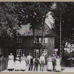 Klempaus Gasthof um 1905