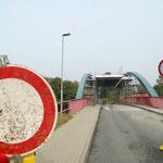 Krummesser Brücke - Vollsperrung Sept.-Nov. 2014