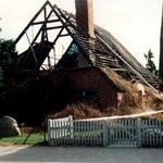 Lübecker Straße 6 - Abriß Bauernhaus -