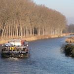 Elbe-Lübeck-Kanal Blick-Richtung Kronsforde