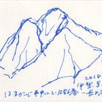 日野春〜長坂にて甲斐駒