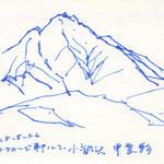 小淵沢にて甲斐駒