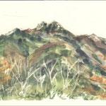 秋の千頭星山(せんとぼしやま)
