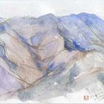 松茸山より まずこんな所で絵を描く人は一人も居ないでしょう
