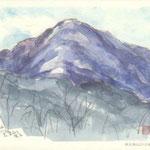 阿夫利山(あふりやま)より大室山