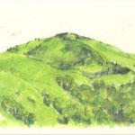 緑の鉢伏山
