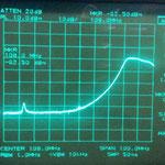 Attenuazione a 108 Mhz con un segnale in Ingresso di - 40 dB