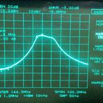 banda passante a -3 dB segnale In - 40 dB (configurazione come foto precedente)