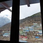 Motiv 3 - Blick aus dem Fenster der Lodge