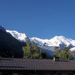 Mont Blanc-Gruppe 1 - Blick von Argentière