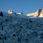 Mont Blanc-Gruppe 8 - Glacier du Géant-Eisbruchzone