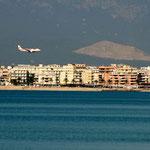 Motiv 1 - Boeing über Palma