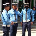 Motiv 11 - Polizisten in Kathmandu