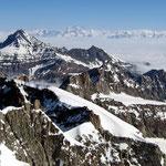 Grajische Alpen 6 - Blick vom Gipfel des Gran Paradiso