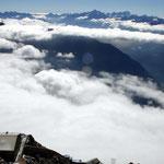 Gran Paradiso-Gruppe 2 - Blick vom Pointe Helbronner