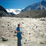 Glacier du Mt. Blanc de Cheilon