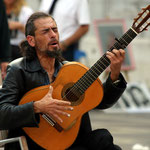 Motiv 16 - Flamenco-Gitarrenspieler