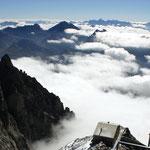 Grajische Alpen 1 - Blick vom Pointe Helbronner nach Süd