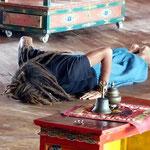 Motiv 25 - Im Mahayana-Gompa-Center - Kathmandu 2014