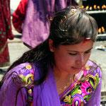 Motiv 13 - Gläubige in Swayambunath