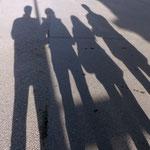 Motiv 1 - Nur noch lange Schatten