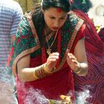 Motiv 1 - Zeremonie in Swayambunath