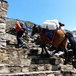 Motiv 13 - Steile Steintreppen