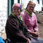 Motiv 5 - Nepalesinnen in Phortse 2014