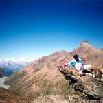 Tête Noire-Gipfelnase - 2979 M