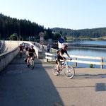 An der Schluchsee-Staumauer