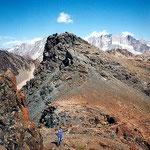Gipfel des Tête Noire