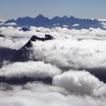 Grajische Alpen 7 - Blick vom Gipfel des Gran Paradiso