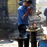 Motiv 20 - Gläubiger in Swayambunath