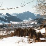 Blick vom Lackenhof auf Kitzbühel (Aufnahmejahr nicht bekannt)