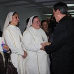 Visita del Cardenal Ruben Salazar a la Arquidiócesis de Nueva Pamplona