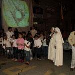 Con el pueblo peregrino acompañando a Jesús Eucaristía